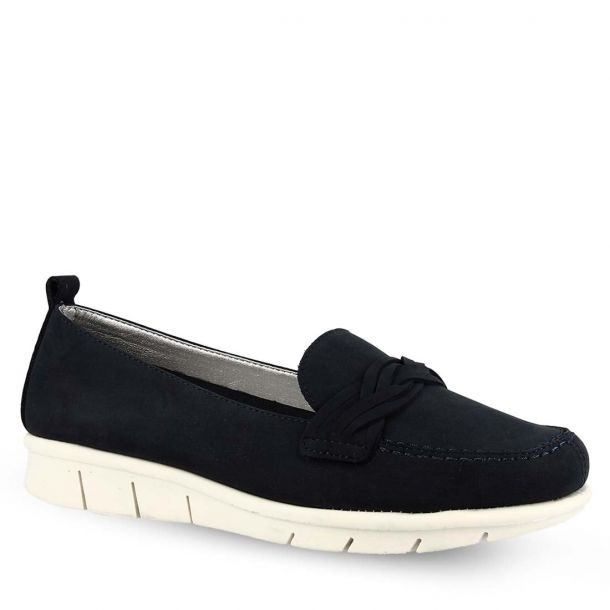 Women's Leather Loafers The Flexx Fettel D1527_18 Nubuck