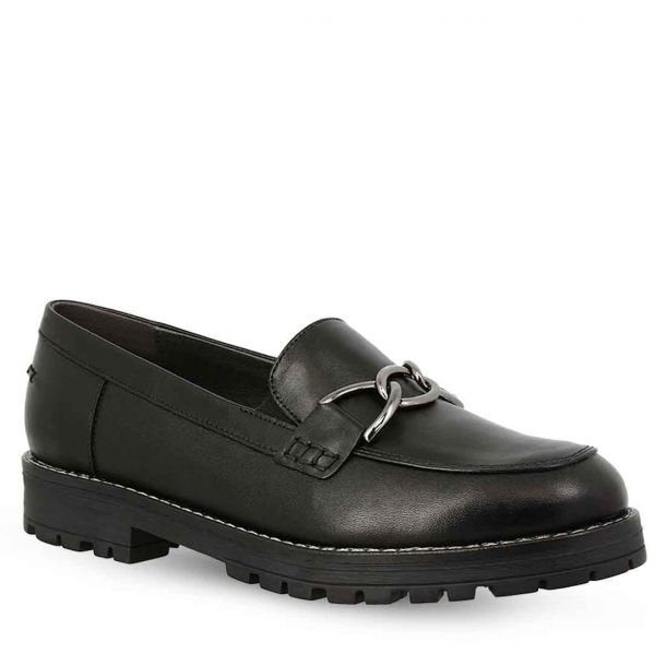 Women's Leather Moccasins Parex 10522009