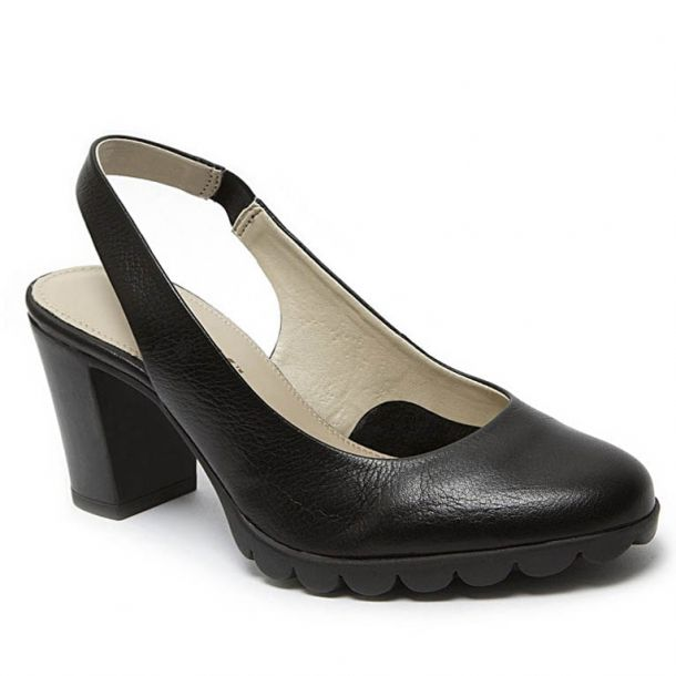 Women's Leather Slingback Pumps THEFLEXX - Dippin It -A701_14