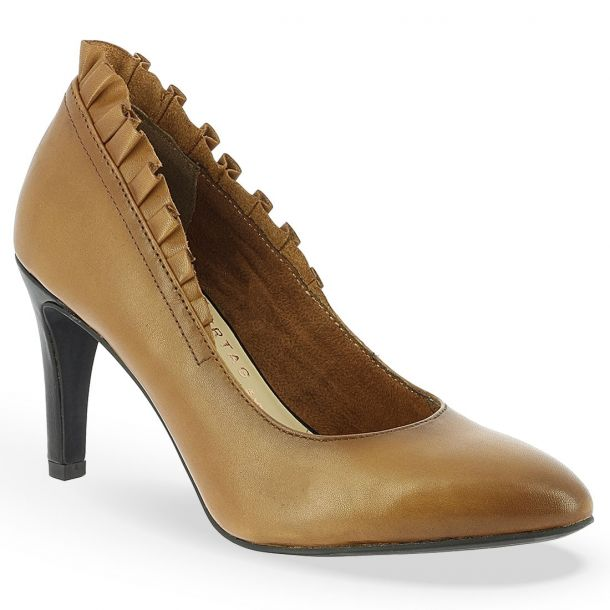 Women's Leather Pointed Pumps Marcel Ostertag x Tamaris BRIELLE 1-1-22441-21