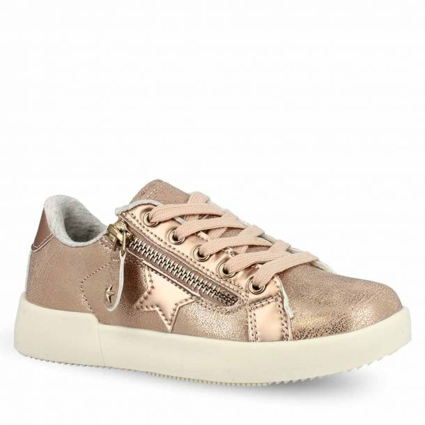 Girl's Rose Gold Sneakers Xti 56641