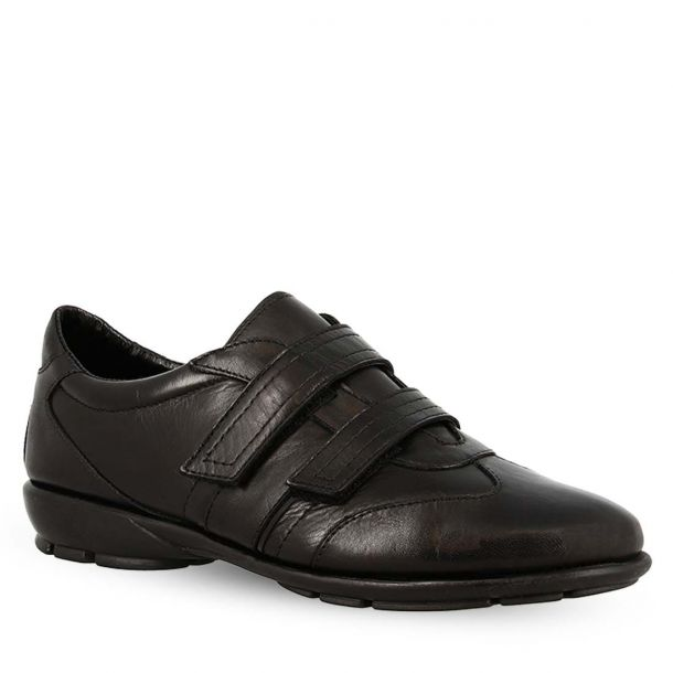Women's Leather Sneakers With Velcro Theflexx 8155_16 Calf