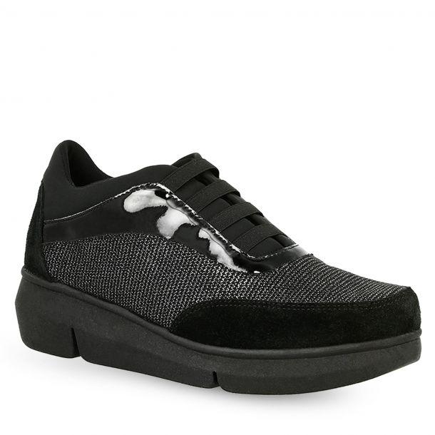 Women's Leather Sneakers THE FLEXX E2055_05 SMOOTHY MIX