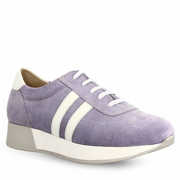 Women's  Suede Leather Sneakers Parex 10721066
