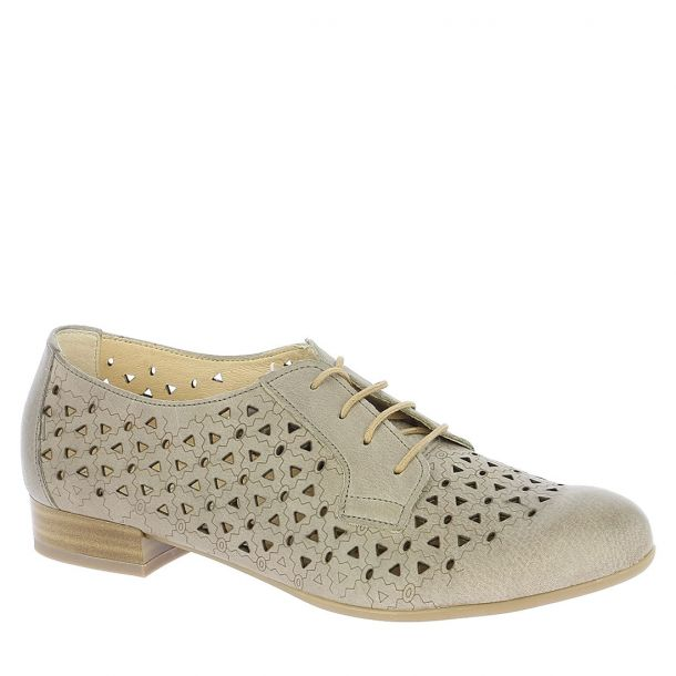 Women's Leather Cut Out Oxfords Alpina 86973