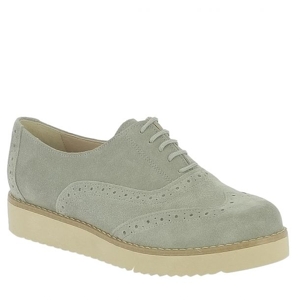 Women's Suede Leather Oxfords Parex 11117001