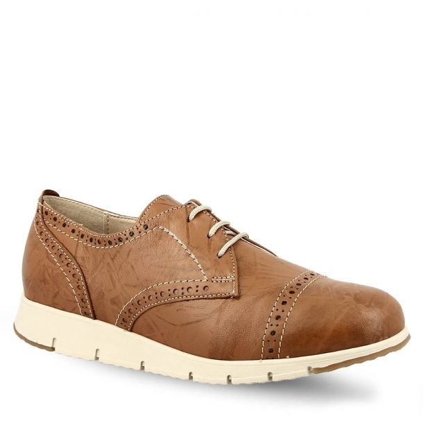 Women's Leather Oxford Shoes Parex