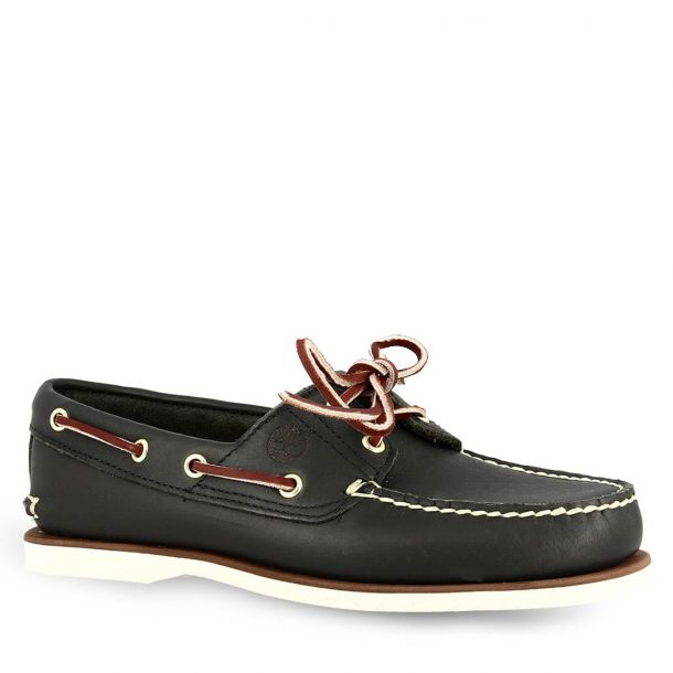 Men's Leather Boat Shoes Timberland C7436