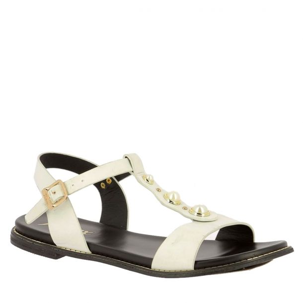 Women's Sandals with Pearls Parex