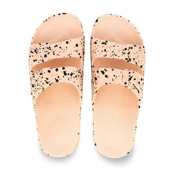 Woman's Summer Sandals Freedomoses Splatter