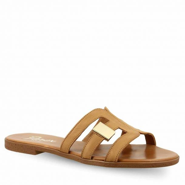 Women's Leather Sandals Parex