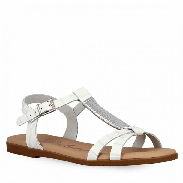 Girl's Leather Flat Sandals Oh My Sandals 4622