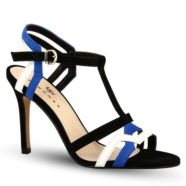 Women's Leather Heeded Sandals Sowoman 11619230