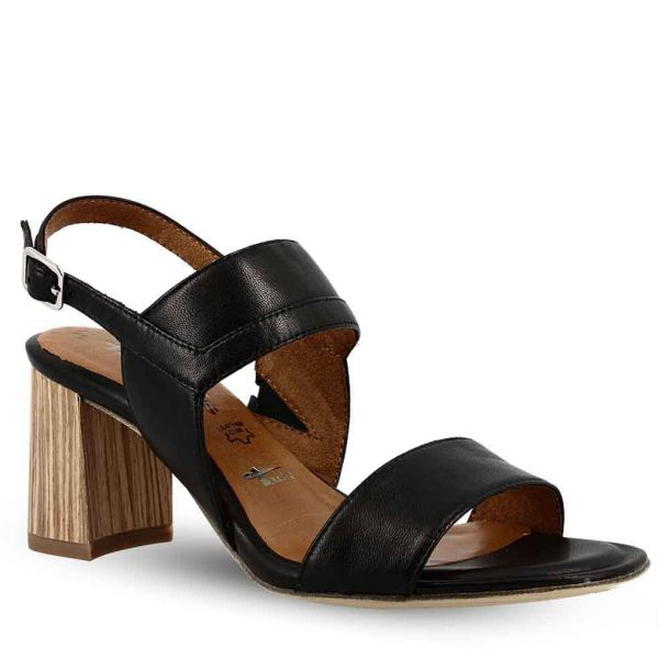 Woman's Leather Heeled Sandals Tamaris 1-1-28358-22 003