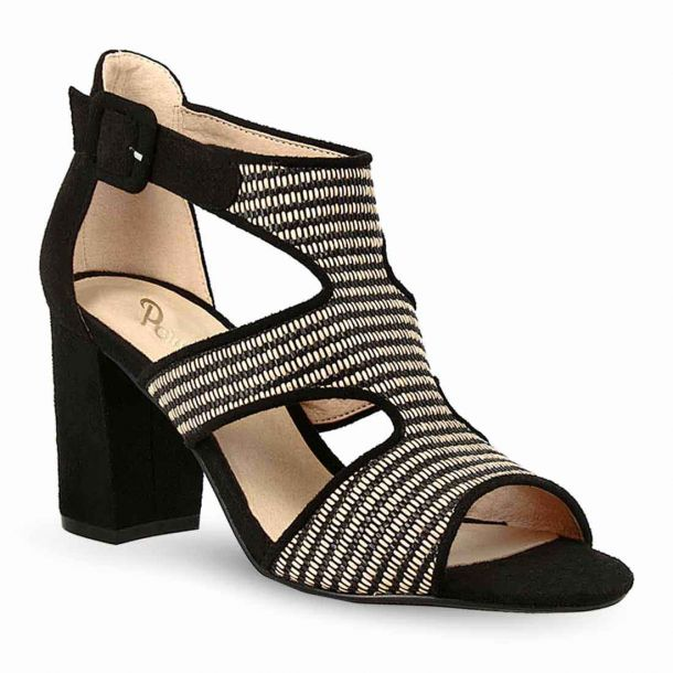 Women's Heeled Raffia Sandals Parex 11621034