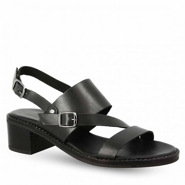 Women's Leather Heeles Sandals Parex 11621103