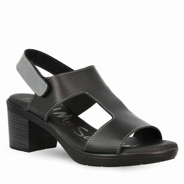 Women's Leather Heeled Sandals Oh My Sandals 4586