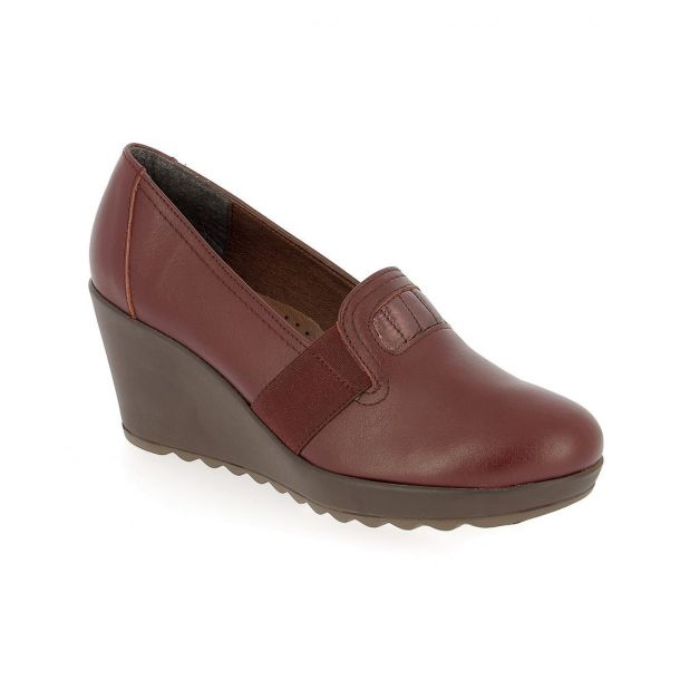 Women's Leather Wedges PAREX
