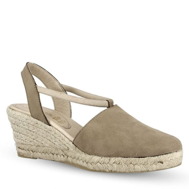 Women's Leather Closed Toe Platform Wedges Ragazza 0674
