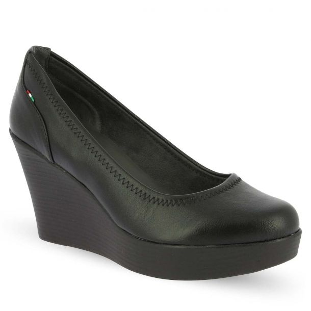 Women's Leather Wedges Ragazza 0840