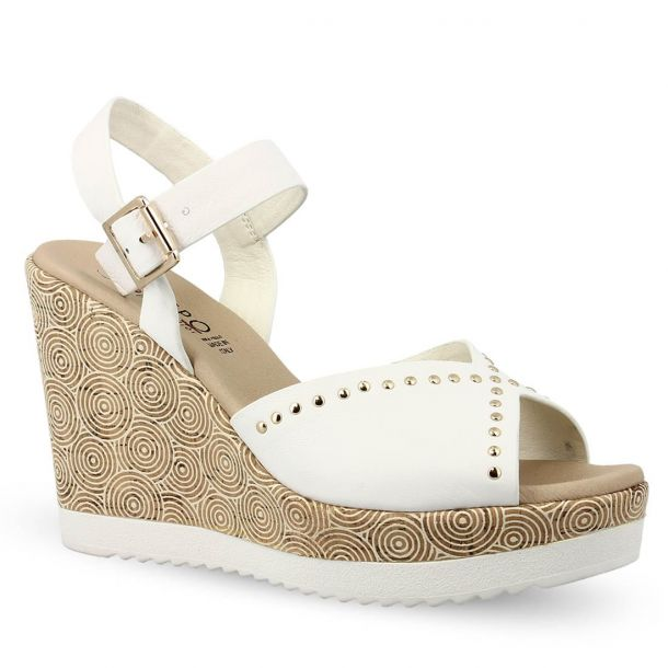 Woman's Leather Wedges Repo 52284