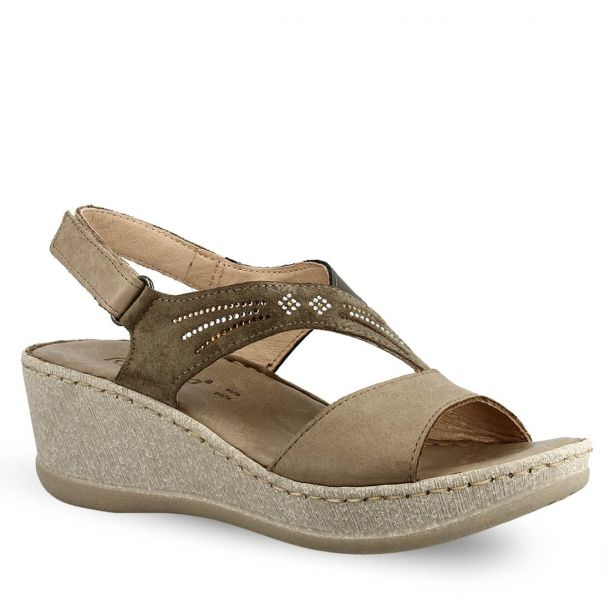 Women's Leather Wedges Ripossela 6373