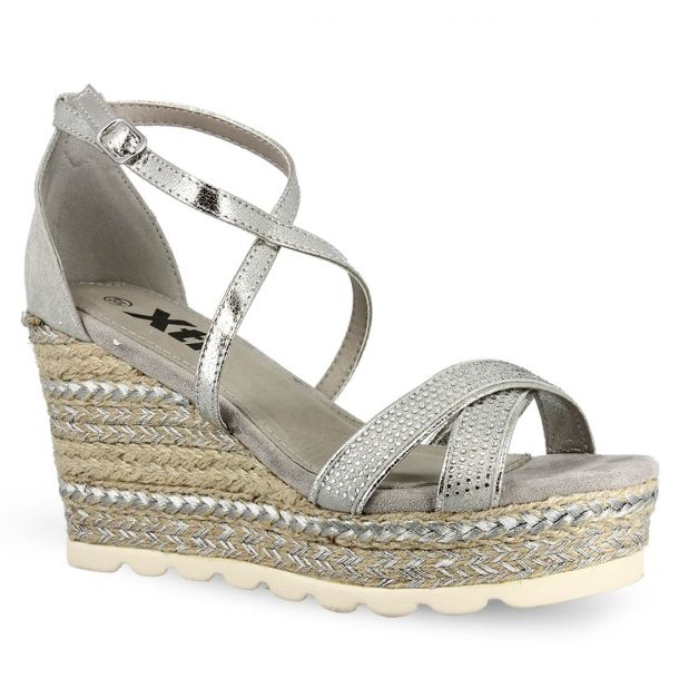 Women's Wedges With Strass Xti 49001