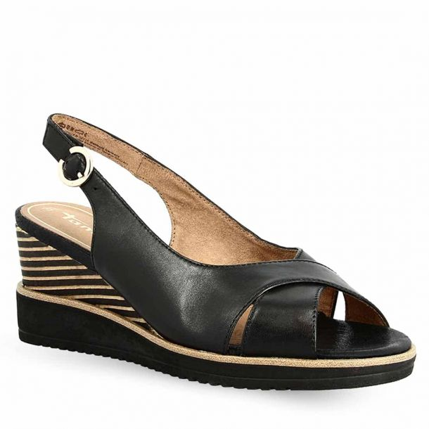 Women's Leather Wedges Tamaris 1-1-28311-24 003