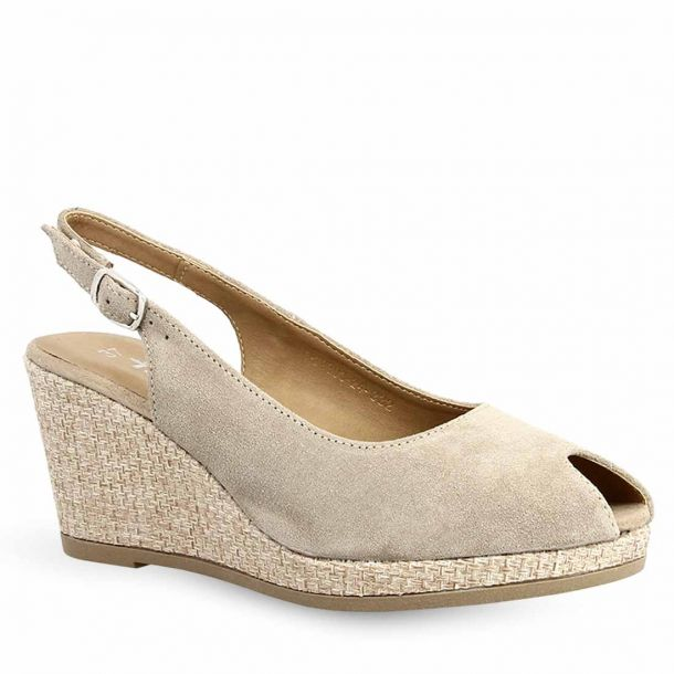 Women's Suede Leather Wedges Tamaris 1-1-29303-24 332