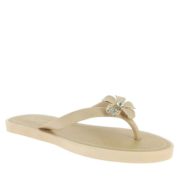 Women's Flip Flops with Flower Parex