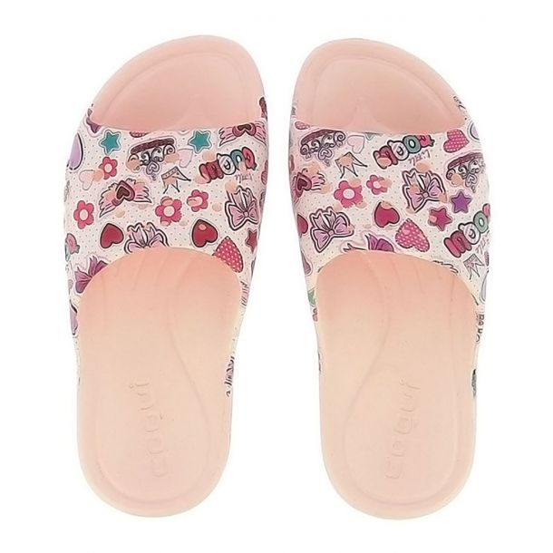 Girl's Slides Coqui - Long