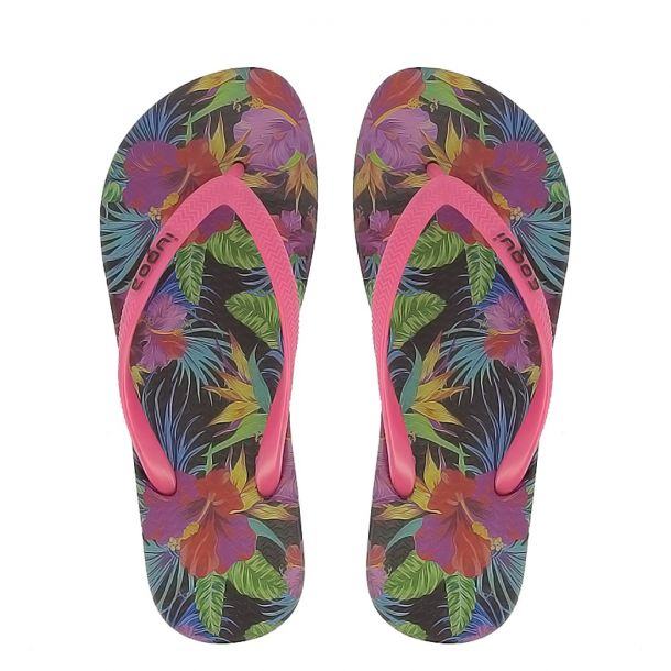 Women's Flip Flops Coqui - Jungle