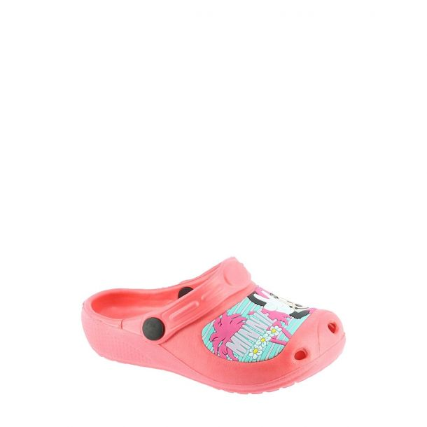 Kid's Clogs Disney Minnie