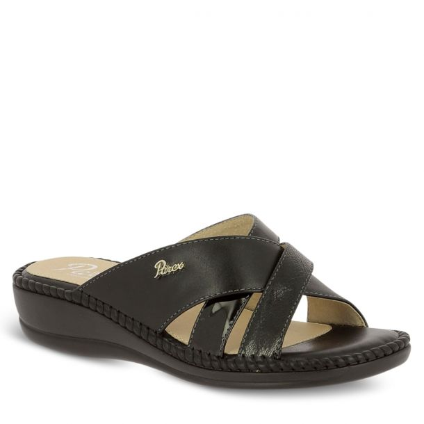 Women's Comfort Mules With Straps Parex