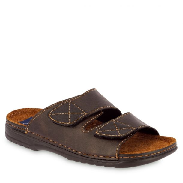 Men's Comfort Mules With Straps Parex