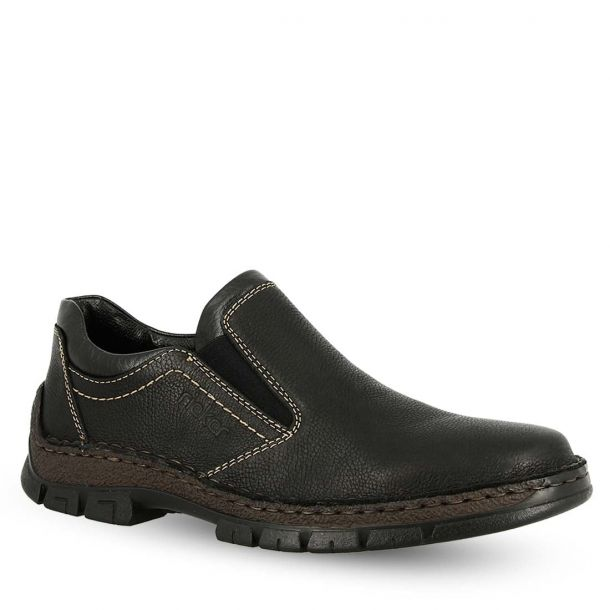 Men's Leather Loafers Rieker 12272-00