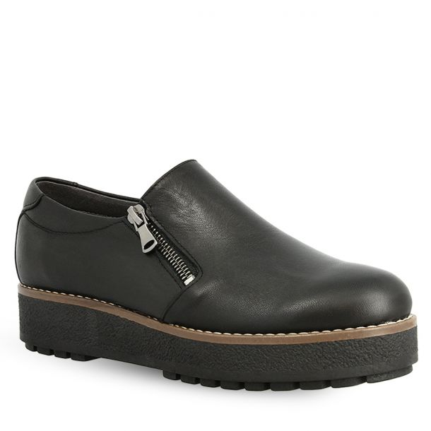 Women's Leather Loafers Parex 12322003