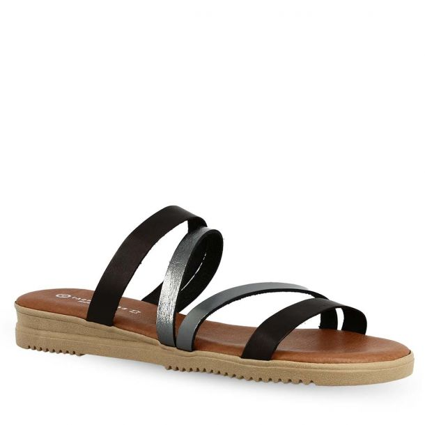 Women's Leather Sandals Vaquetillas 20722