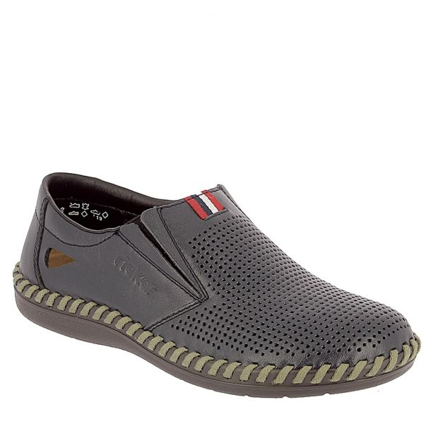 Men's Leather Slip On Rieker B2467-14