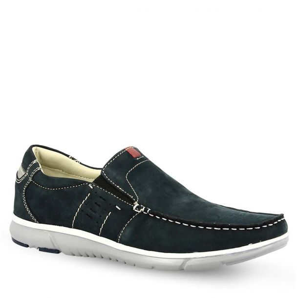 Men's Leather Slip On Parex