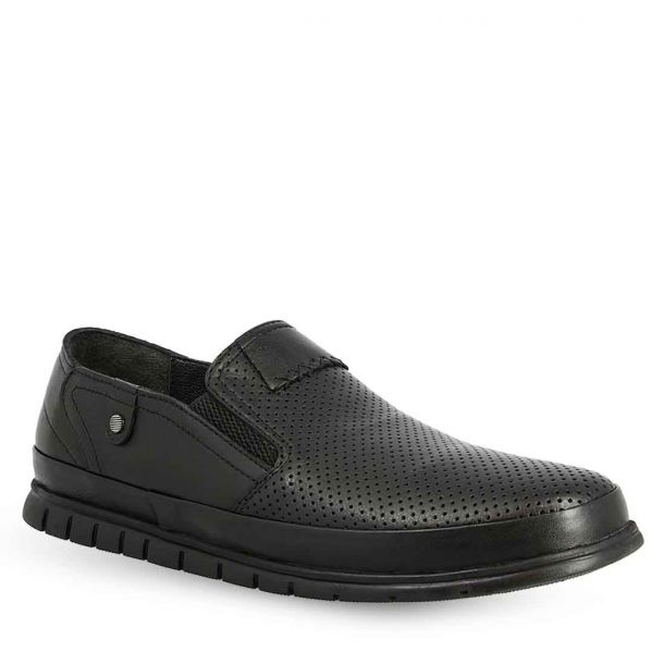 Men's Leather Slip On Shoes Parex 12921016