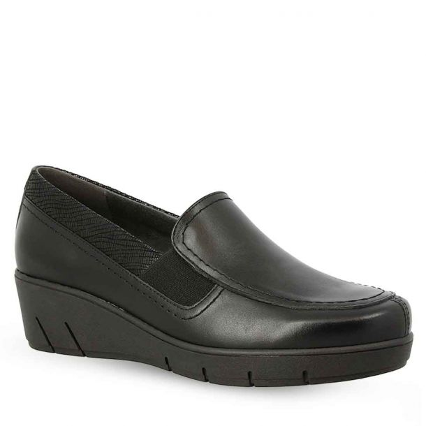 Women's Leather Slip On Shoes Parex 12922008