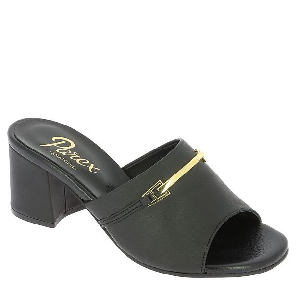 Women's Leather Mules Parex