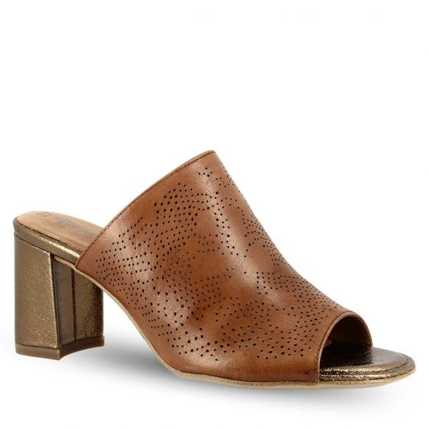 Woman's Leather Mules Tamaris 1-1-27211-22 305