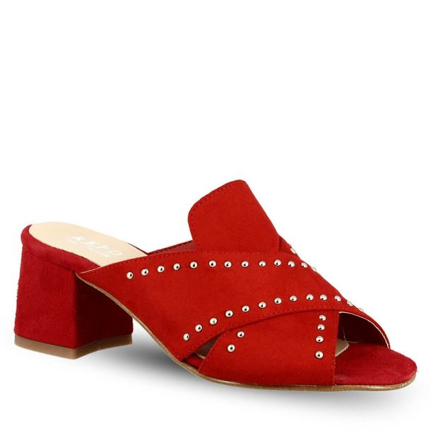 Woman's Leather Mules Repo 36160