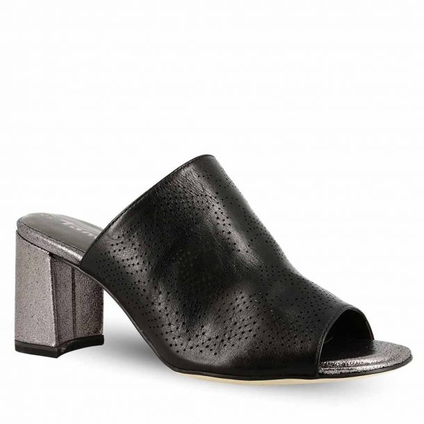 Woman's Leather Mules Tamaris 1-1-27211-22 001
