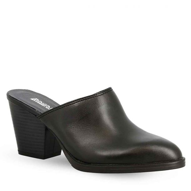 Women'S Leather Mules Ragazza 0297