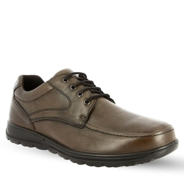 Men's Lace Up Leather Casual Shoes IMAC 201930