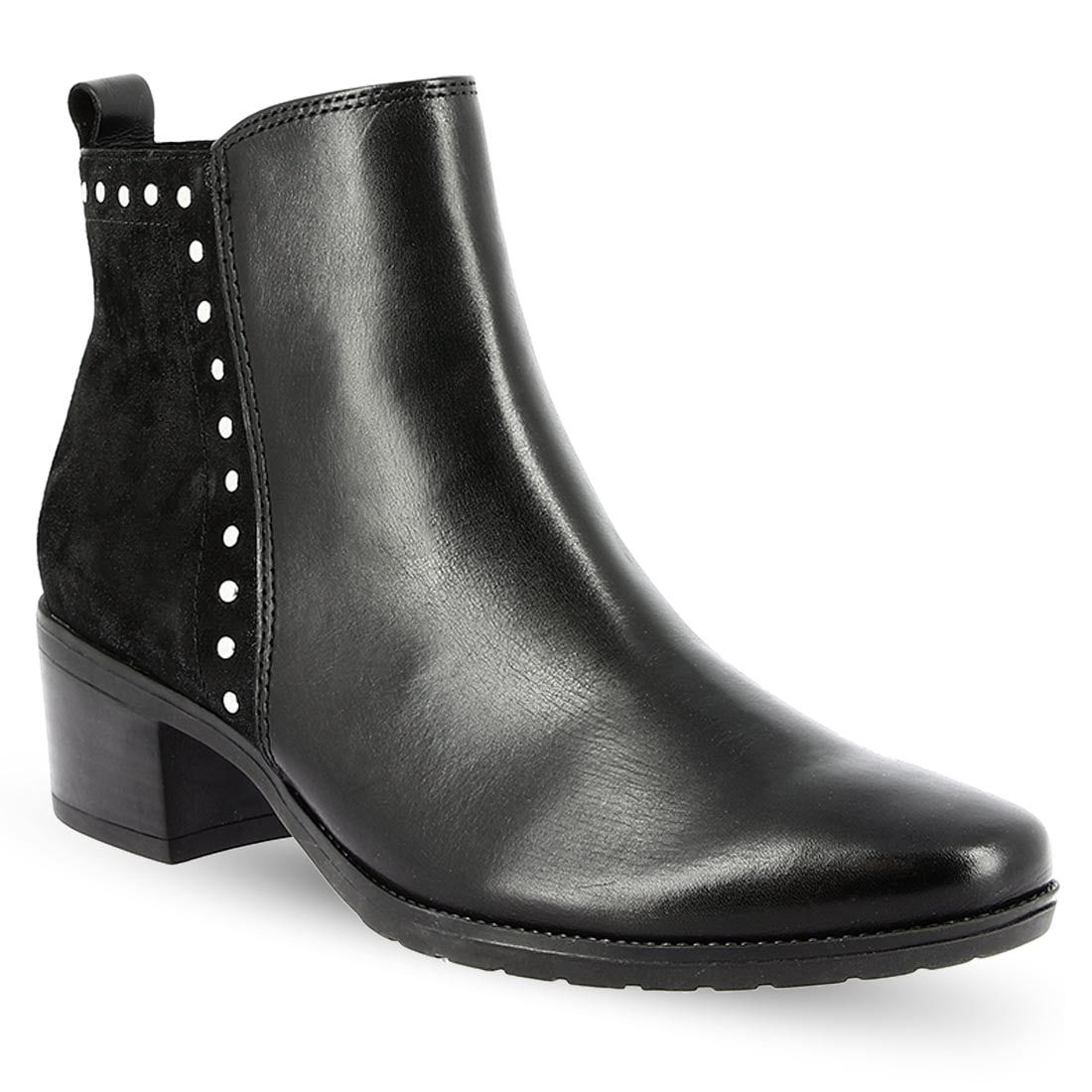 Women's Leather Ankle Boots CAPRICE 9-9